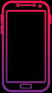 Icono smartphone android
